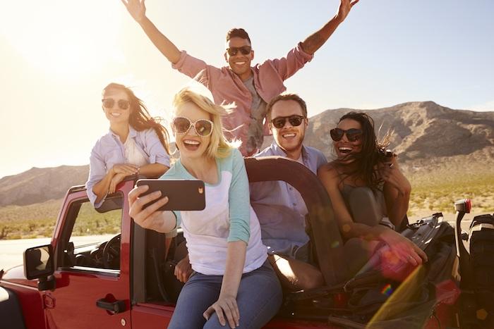 people on Jeep