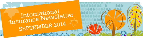 International Student Insurance Newsletter - September 2014