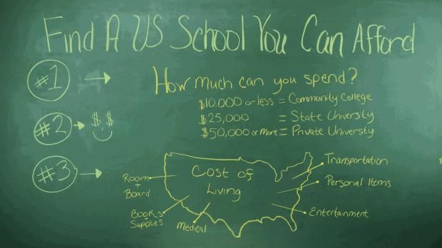 Find a U.S. School You Can Afford