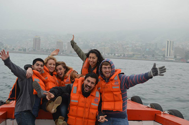 Boat Tour Through the Port of Valparaiso