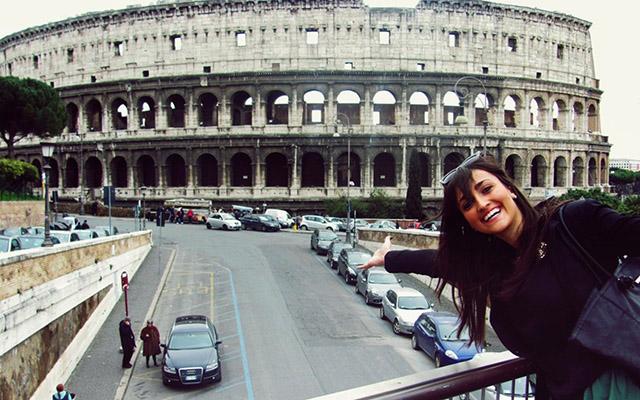 Roma is love spelled backward! :)