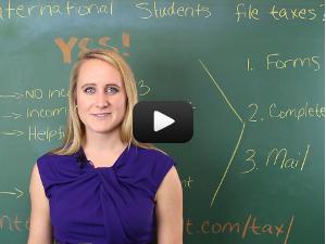 international student tax