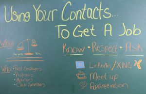 Google Hangout - Using your contacts to get a job